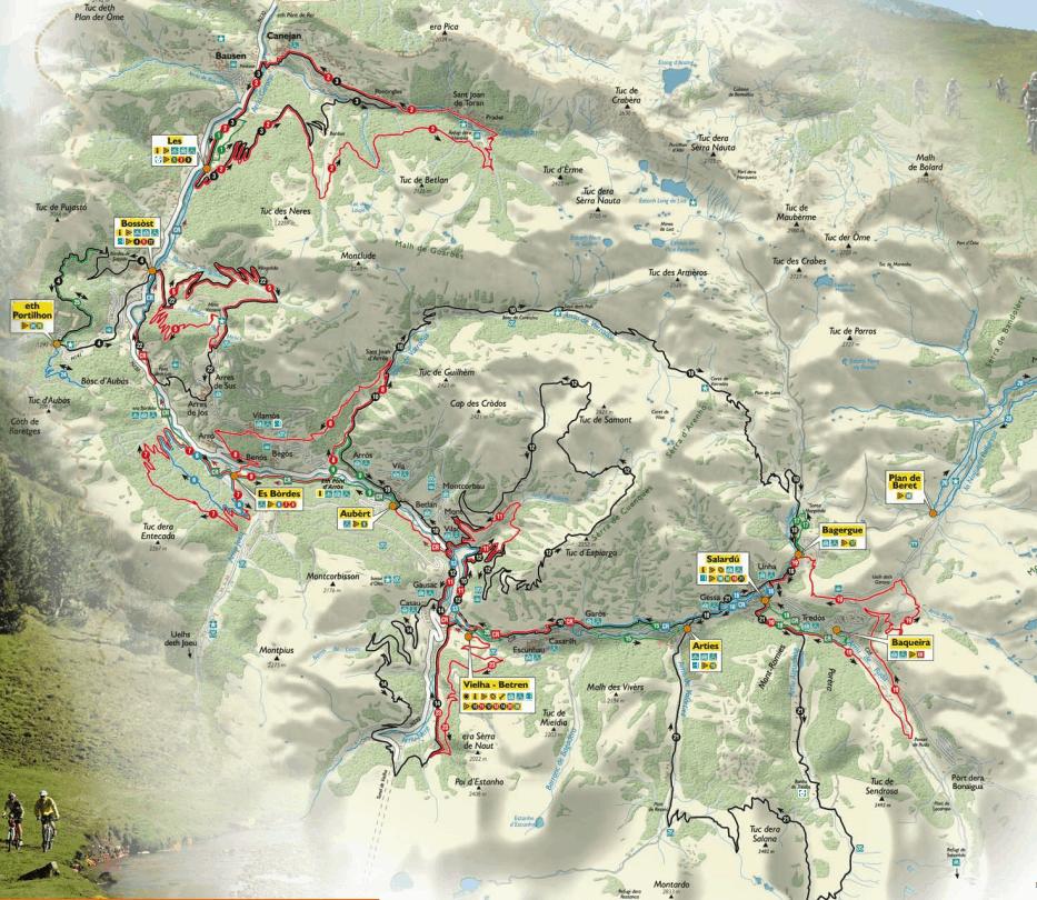 Rutas guiadas en Bicicleta Valle de Aran