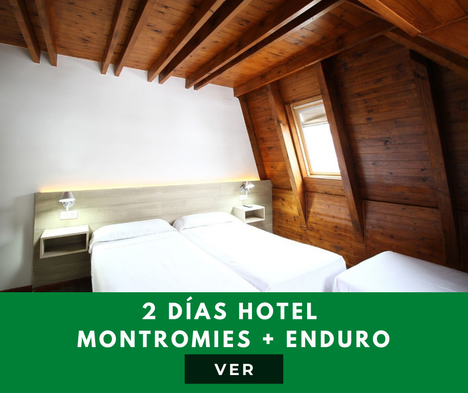 experiencia hotel montromies enduro