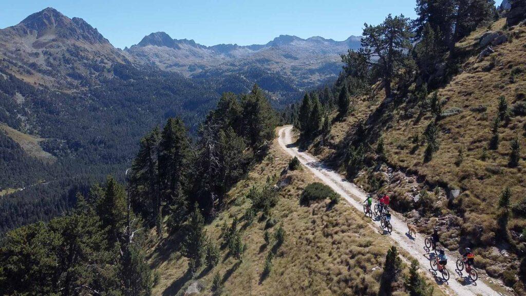 Ruta guiada bicicleta Pruedo - Valle de Aran - bicicletas electricas