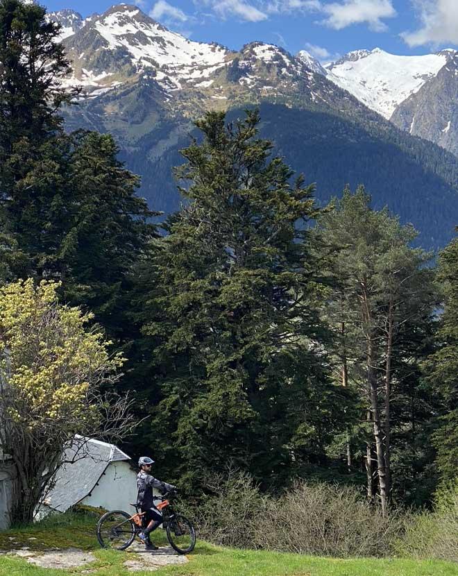 Ruta bicicleta MTB facil Tuca Valle de Aran - lariderbike