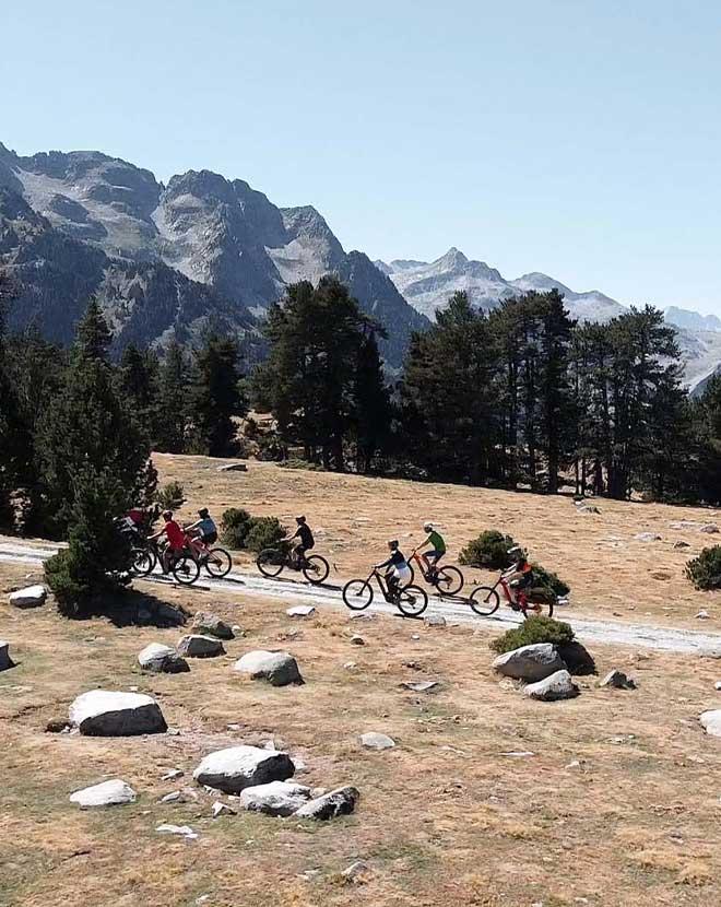 Ruta bicicleta nivel medio Pruedo Valle de Aran - LaRiderBike